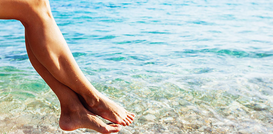 Four easy steps to summer smooth skin