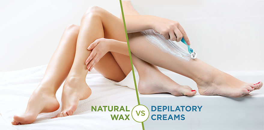 Waxing Solutions: Natural Wax v/s Depilatory Creams