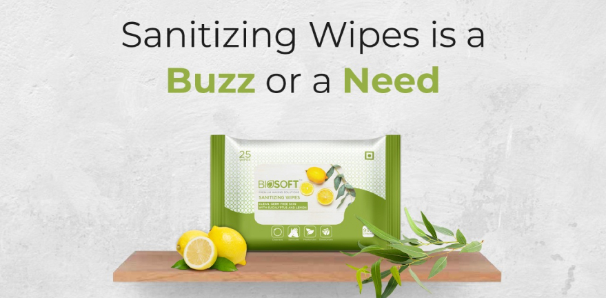 Instant Sanitizing Wipes for protection