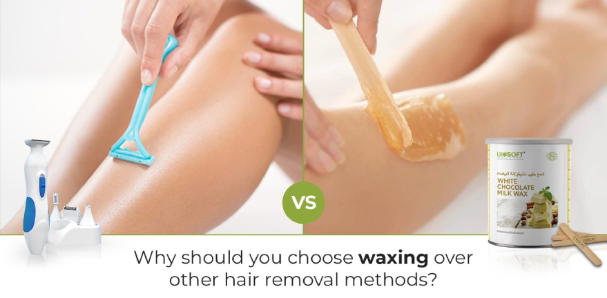 Why should you choose waxing over other methods of hair removal?