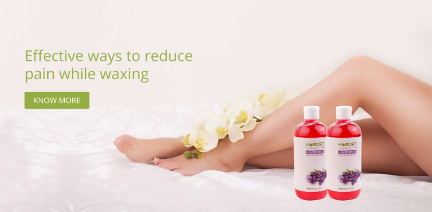 Effective ways to reduce pain while waxing!