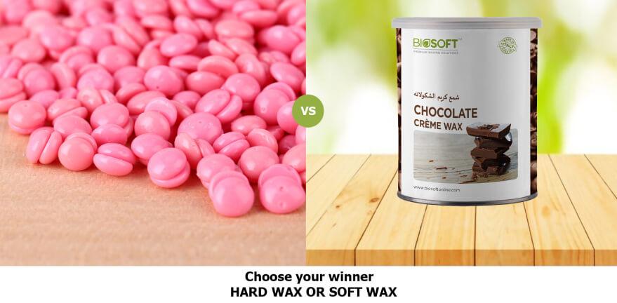Choose your winner: Hard wax V/S Soft wax