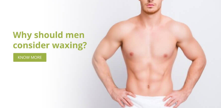 Why should men consider waxing?