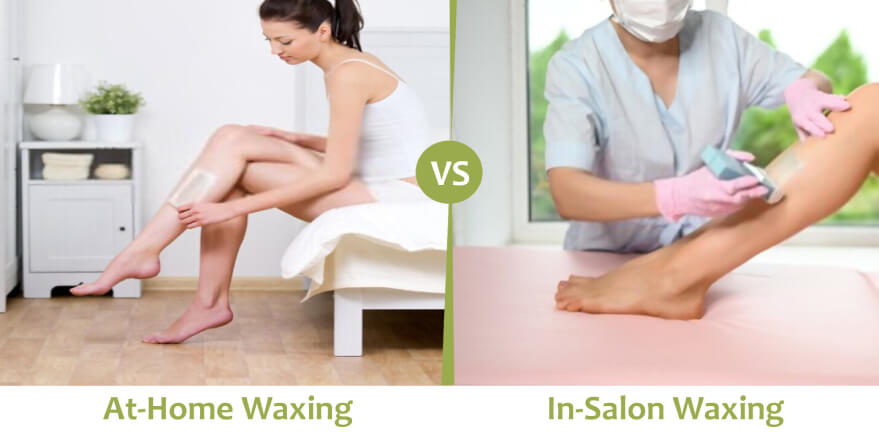 At-home v/s In-salon Waxing