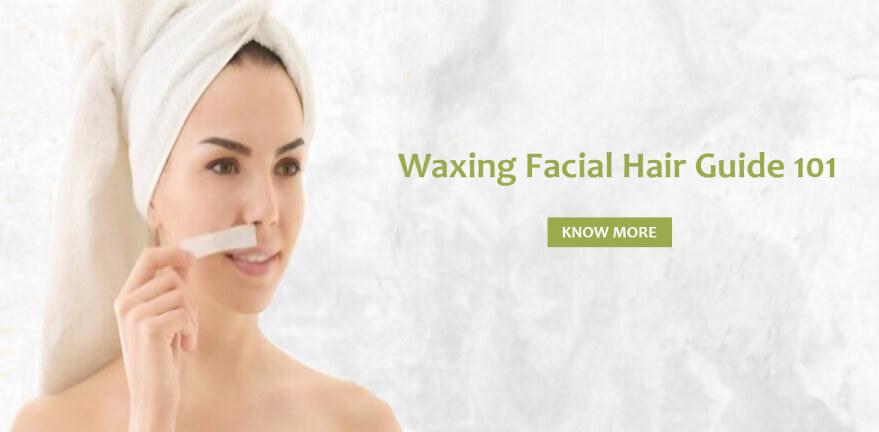 Waxing facial hair guide 101!